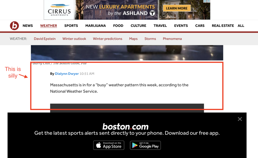 Boston.com viewport